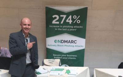 Cyber Showcase 2019: a solução OnDMARC da Manager One foi destaque.